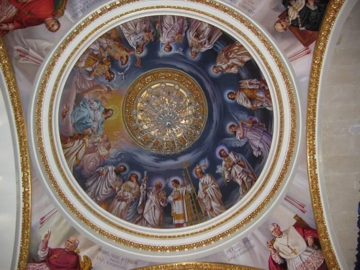 Роспись потолка кафедрального собора города Виктория, Гоцо