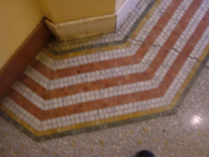Мозаичный пол — фото 12