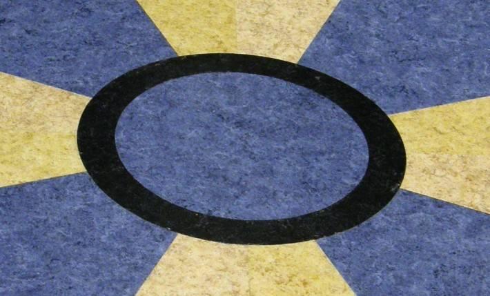 Пол из керамической плитки — фото 66