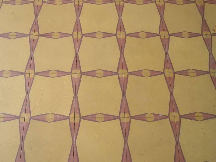 Пол из керамической плитки — фото 27