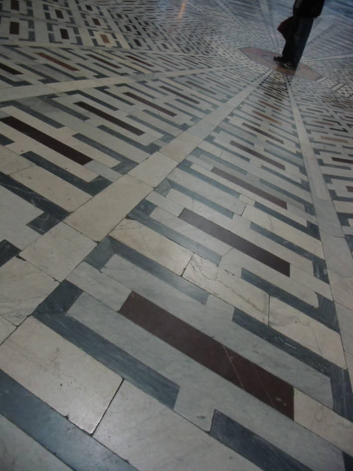 Пол из керамической плитки — фото 5