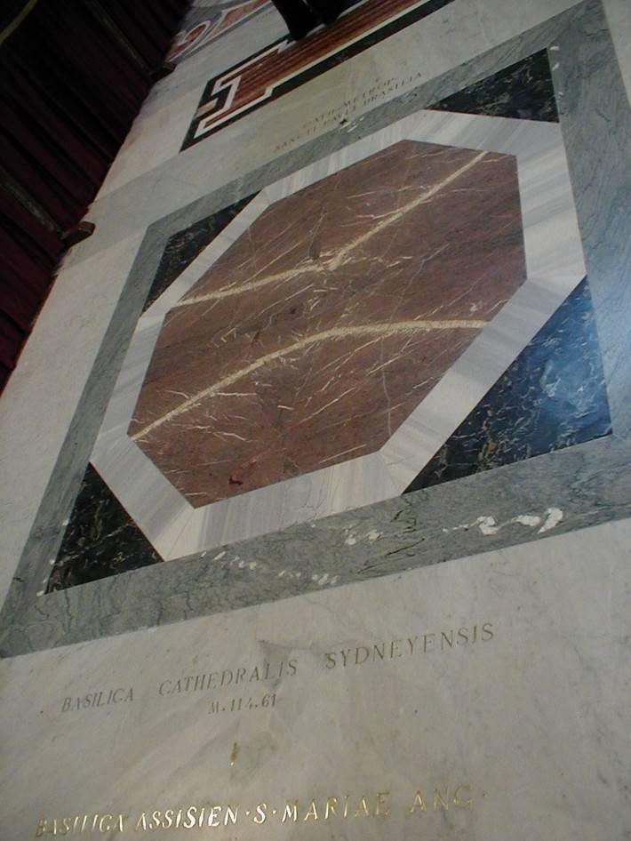 Пол из керамической плитки — фото 47