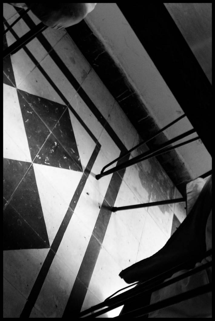 Пол из керамической плитки — фото 67