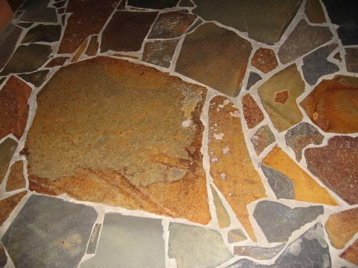 Пол из керамической плитки — фото 16