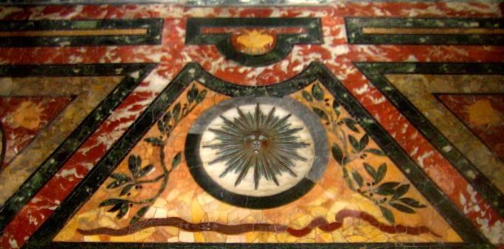 Пол из керамической плитки — фото 71