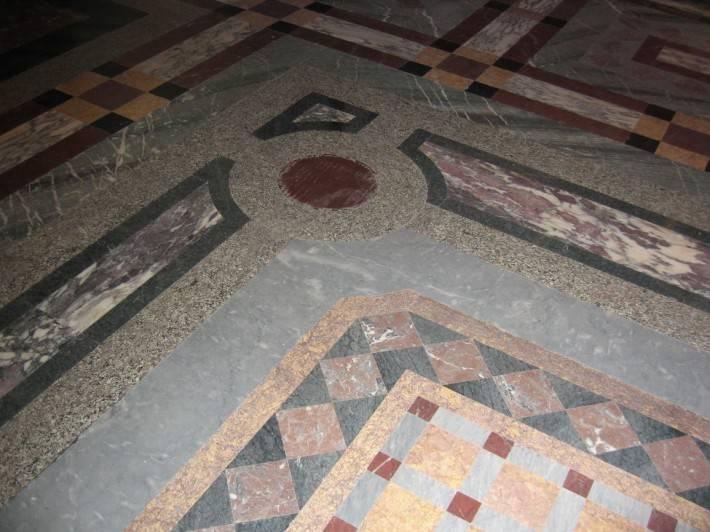 Пол из керамической плитки — фото 50