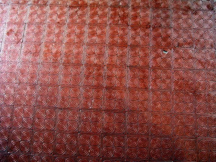 Пол из керамической плитки — фото 79