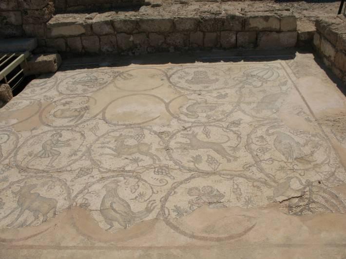 Мозаичный пол — фото 10