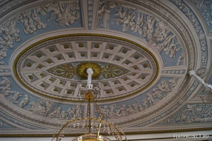 Декор интерьеров Павловского дворца — фото 174