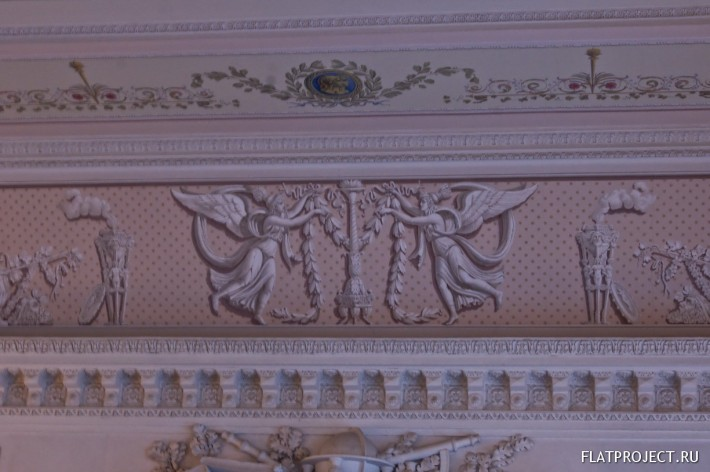 Декор интерьеров Павловского дворца — фото 149