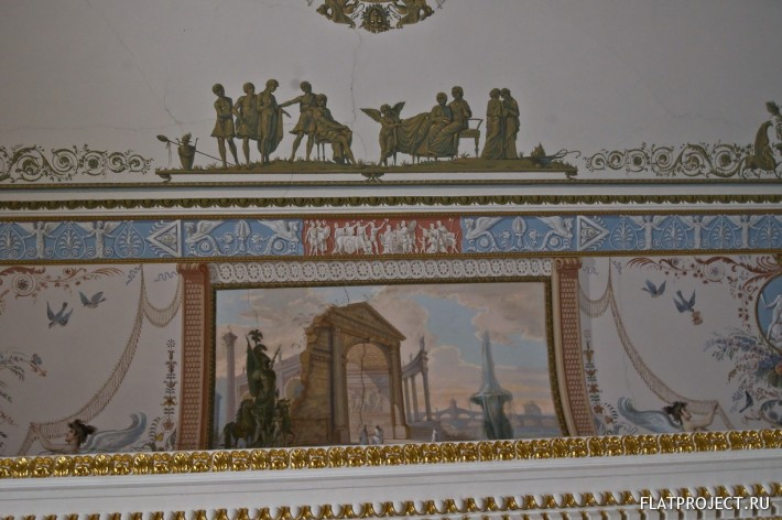 Декор интерьеров Павловского дворца — фото 90