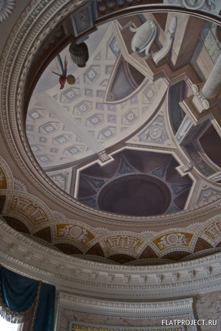 Декор интерьеров Павловского дворца — фото 48