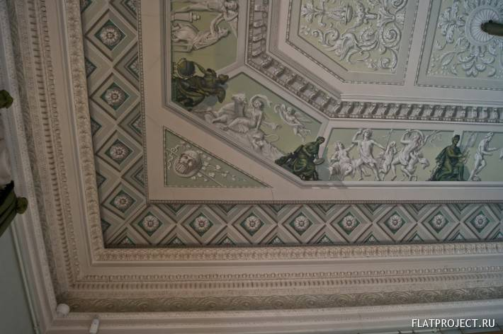 Декор интерьеров Павловского дворца — фото 35