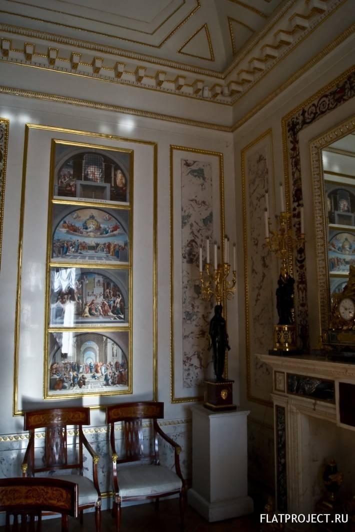 Декор интерьеров Павловского дворца — фото 30