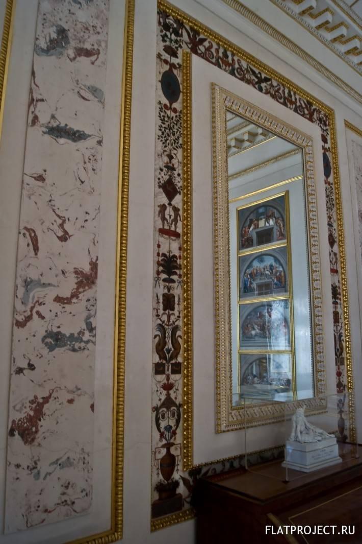 Декор интерьеров Павловского дворца — фото 29