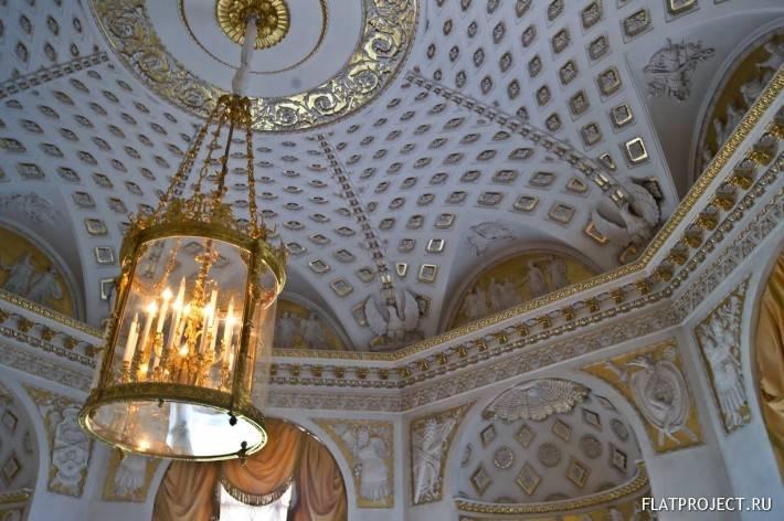Декор интерьеров Павловского дворца — фото 19