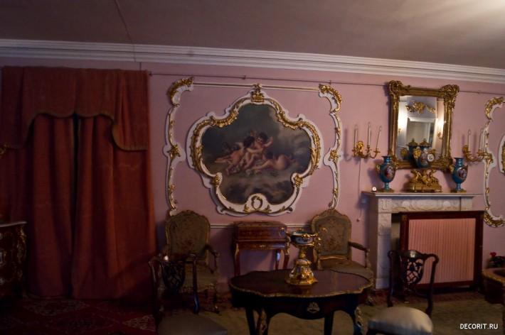 Картинка классического дизайна интерьера