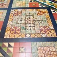 Мозаичный пол — фото 13