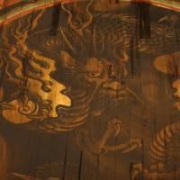 Японская роспись на полу