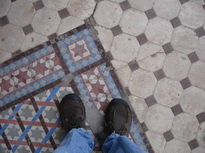 Мозаичный пол — фото 5