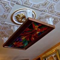 Потолок из пенопластовых панелей. Часть 2.