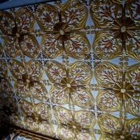 Потолок из пенопластовых панелей. Часть 4.