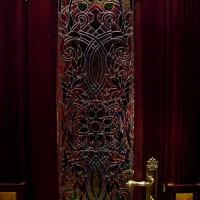 Декор витражом межкомнатной двери — фото 3