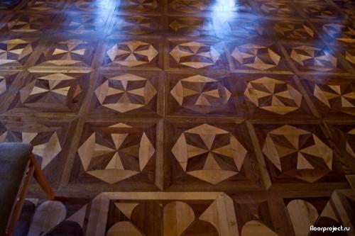 The Menshikov Palace floor designs – photo 9