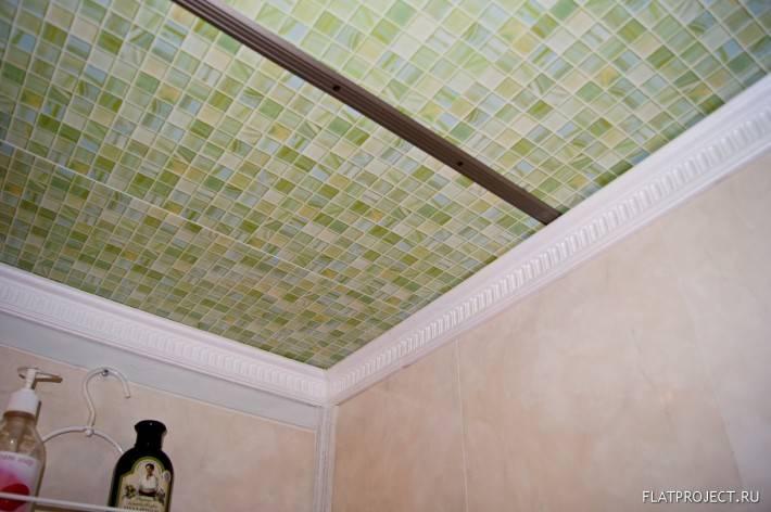 Потолок из пластиковых панелей