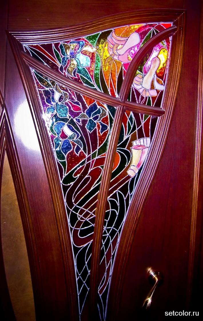 Декор на стекло