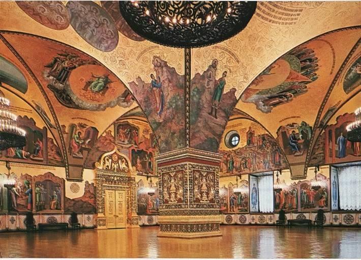 Интерьер Грановитой палаты
