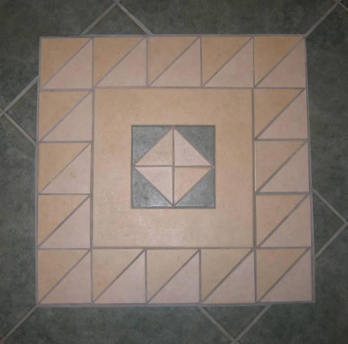 Пол из керамической плитки — фото 107
