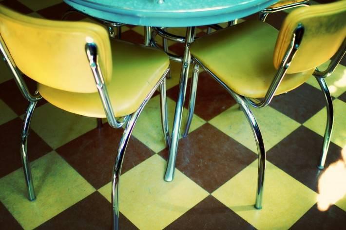 Пол из керамической плитки — фото 108