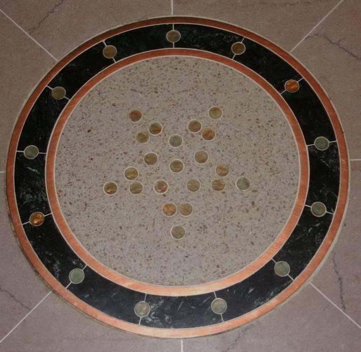 Пол из керамической плитки — фото 128