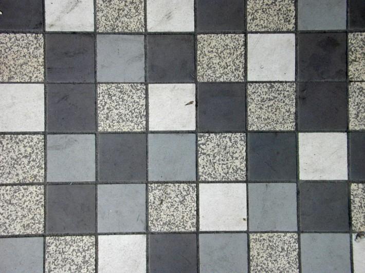 Мозаичный пол — фото 29