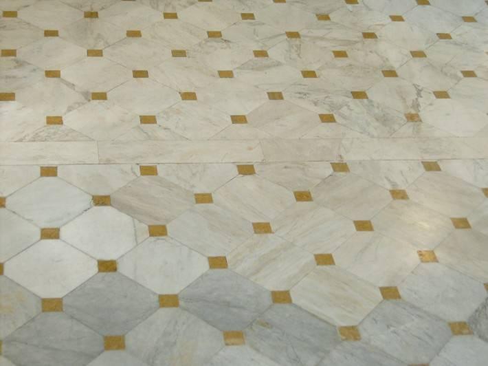 Пол из керамической плитки — фото 116