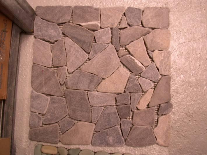 Пол из керамической плитки — фото 121