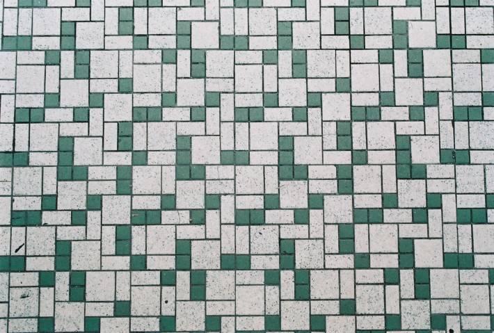 Мозаичный пол — фото 34
