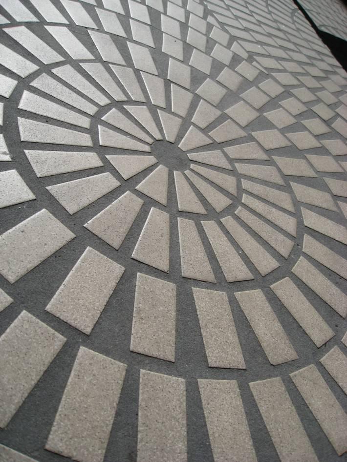 Фото пола из камня и плитки