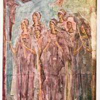 Девы, Провожающие Марию. из Сцены «Введение во Храм»