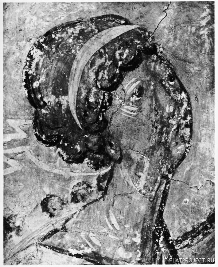 Архангел Гавриил из Сцены «Благовещение» на Стене Церкви