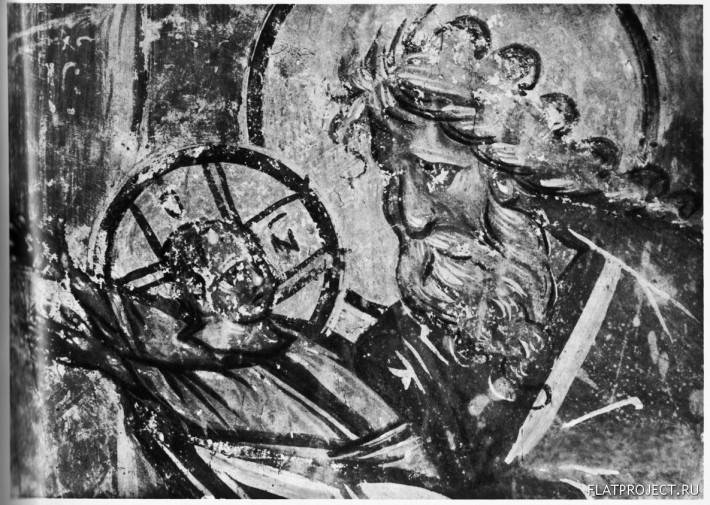 Первосвященник и Младенец Христос из Сцены «Сретение»