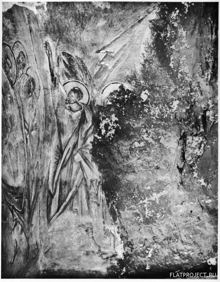 Фреска Апостолы из Сцены «Вознесение» на Северной Стене Церкви