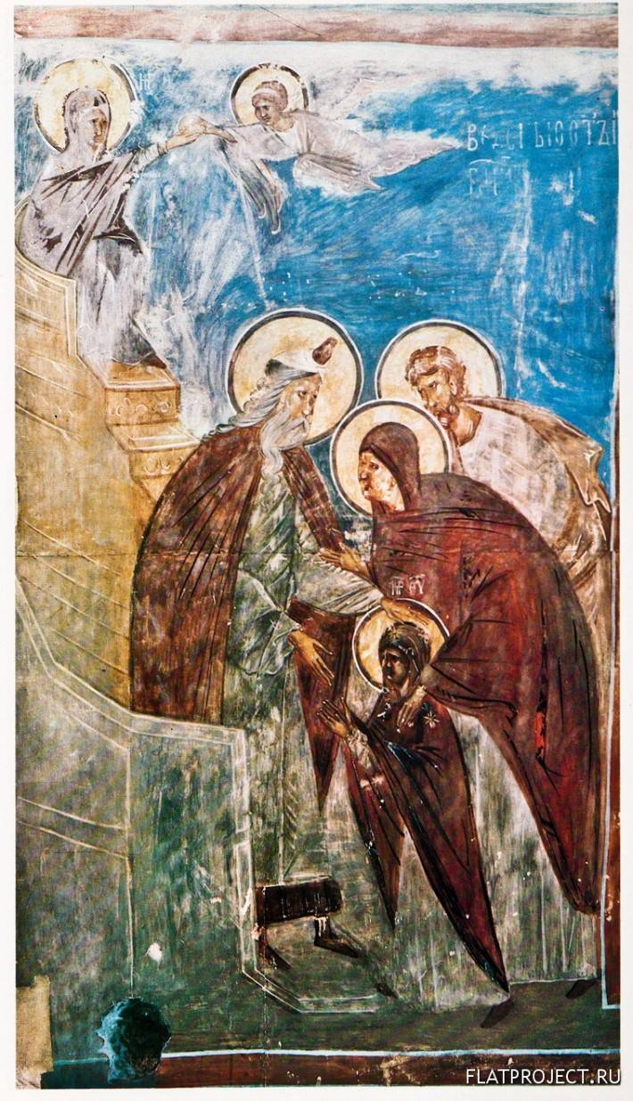 Встреча Девы Марии Первосвященником из Сцены «Введение во Храм»