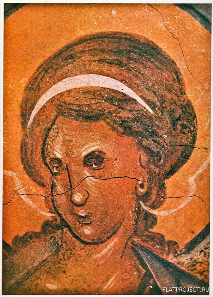 Фреска Архангел Михаил на Южном Своде Церкви
