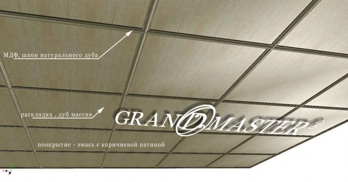 Потолок на подвесной системе Armstrong