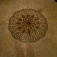 Пол из керамической плитки — фото 45