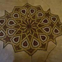 Пол из керамической плитки — фото 58