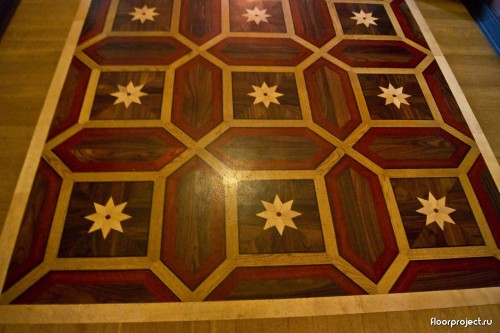 The Yusupov Palace floor designs – photo 1