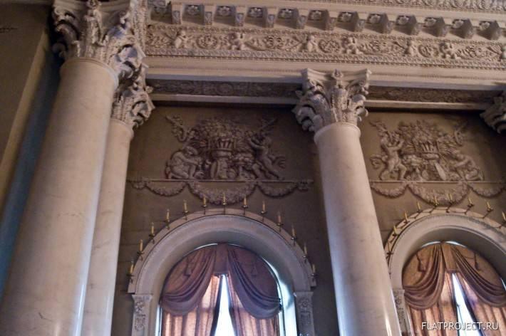 Декор интерьеров Юсуповского дворца — фото 78